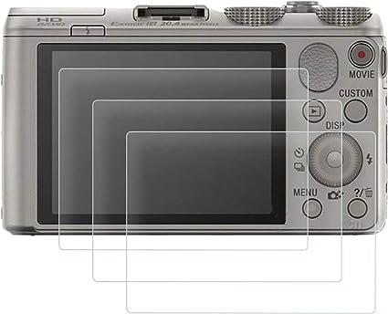 """3/"""" Paquete De 5 Cámara Film Protector de pantalla para Sony Cybershot Dsc HX80"""