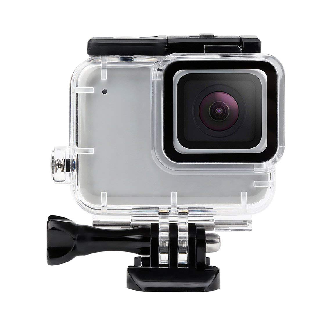 Zinniaya Acrylic PC Glass Diving Waterproof Housing Case For GoPro Hero 7 Silver Camera Accessories 30M