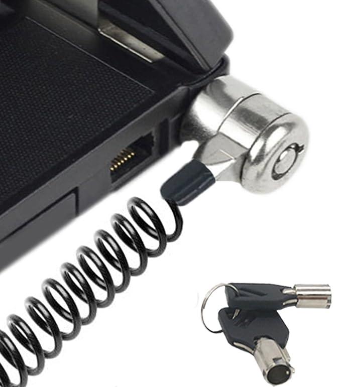 4 opinioni per Cavo di blocco di sicurezza serratura antifurto con cavo per computer portatile