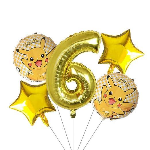 LIUUWO Balloon 5 Unids/Lote 30 Pulgadas Globo Número Globos ...