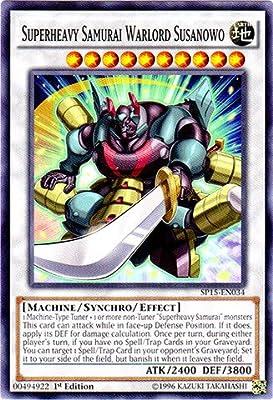 Yu-Gi-Oh! - Superheavy Samurai Warlord Susanowo (SP15-EN034) - Star Pack ARC-V - 1st Edition - Common