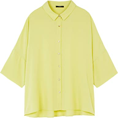Parfois - Camisa Oversize Lisa - Mujer