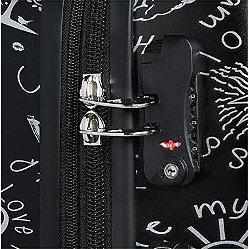 Mia Toro ITALY Love This Life-Medallions Hardside Spinner Luggage 3 Piece Set [20'', 24'' & 28''] by Mia Toro (Image #3)