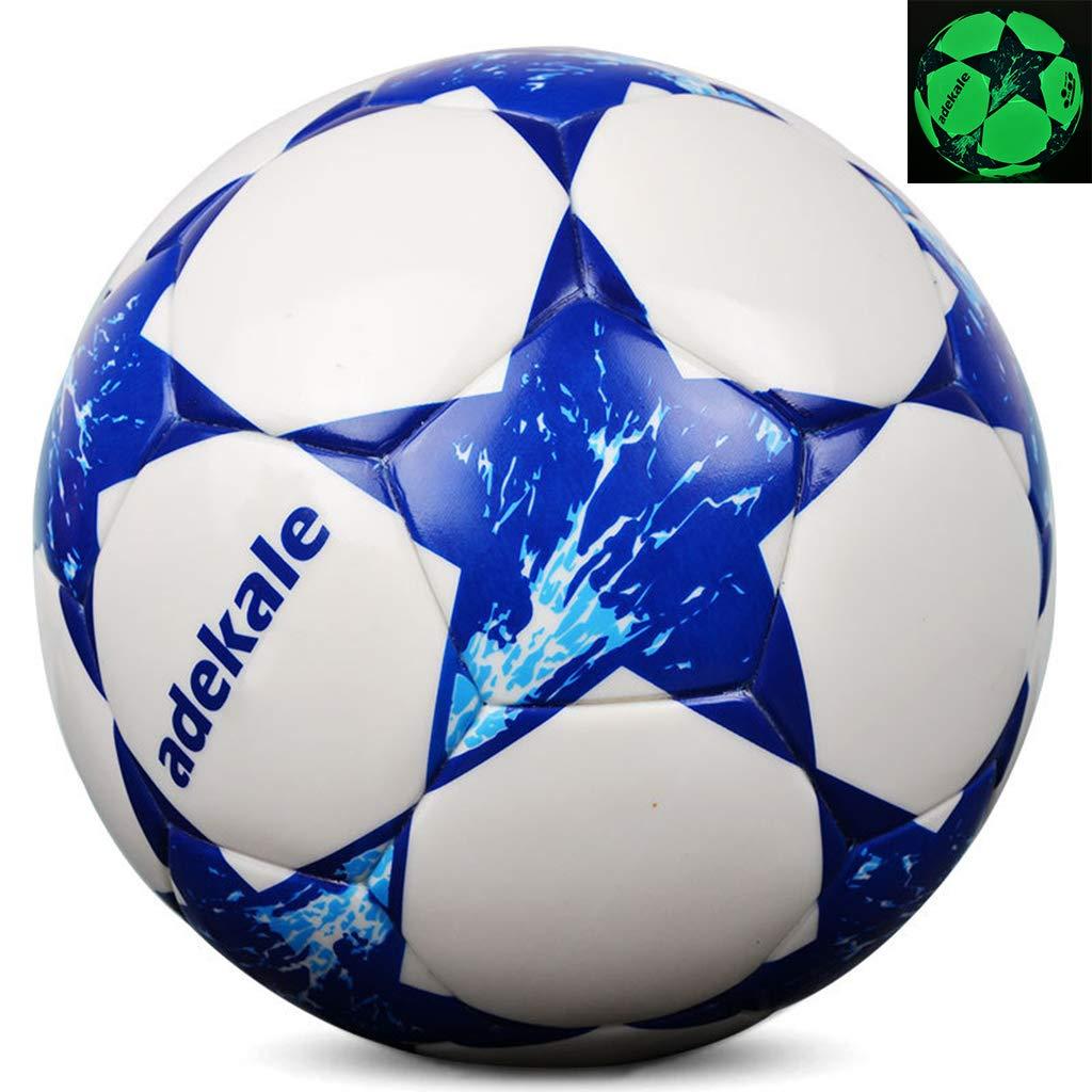 Lecc Fútbol Fluorescente, Balón Fútbol Tamaño Oficial (Tamaño 5 ...