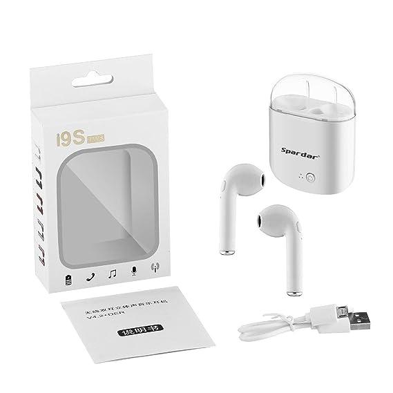 Auriculares Bluetooth Deportivos inalámbricos a Prueba de Sudor Auriculares magnéticos atracción Auriculares estéreo para Correr, Entrenamiento, Gimnasio, ...