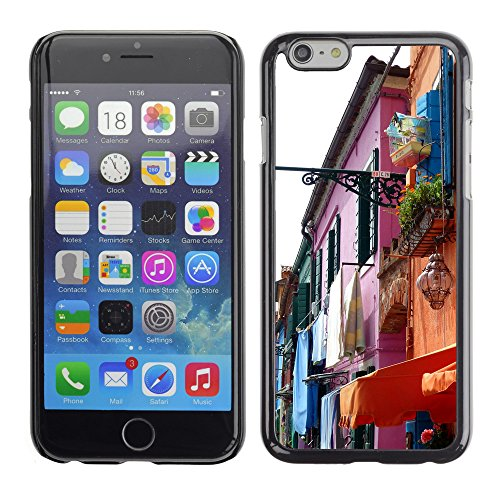 Premio Sottile Slim Cassa Custodia Case Cover Shell // F00027543 Couleurs du village // Apple iPhone 6 6S 6G 4.7""