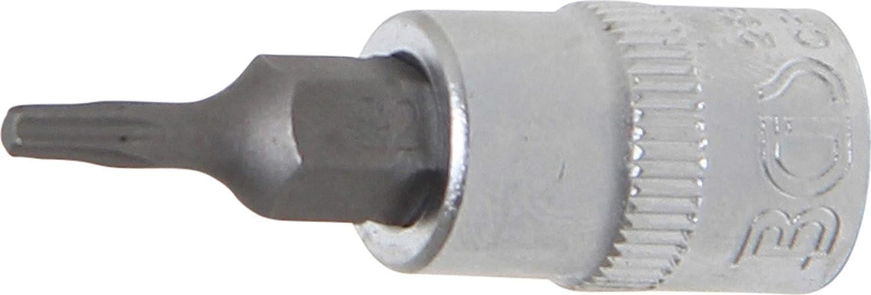 6,3 mm L/änge 38 mm 1//4 | T-Profil BGS 2591 CV-Stahl T15 Bit-Einsatz f/ür Torx