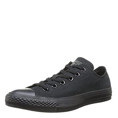 b6a3bd0ba664 Amazon.com  Converse Chuck Taylor All Star Core Mono Black Low top Sneakers  M5039 (US Men s 5.5 Women s 7.5)  Shoes