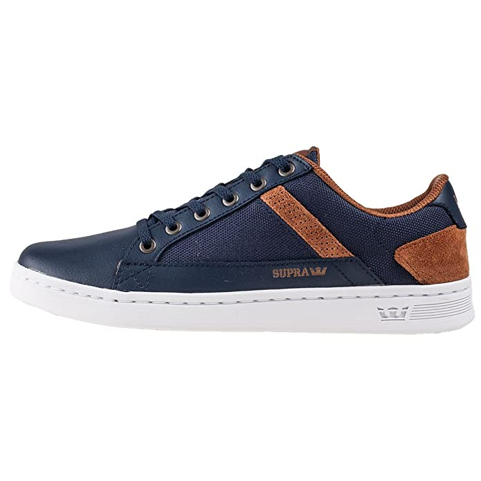 932dcf026d44 Supra Chaussures Westlake Outerspace Brown White  Amazon.fr  Chaussures et  Sacs