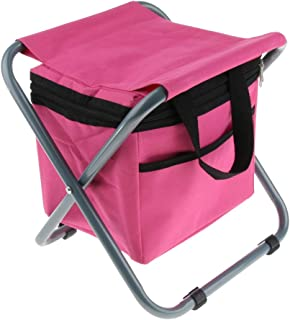 Baoblaze Collapsible Picnic Camping Chair Seat Fishing Backpack Bench Coolers Multifunction Perfect for Storing Foods or Relaxing
