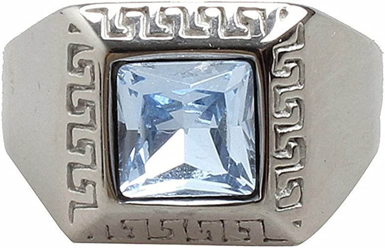 Silver Tone Crystal Ring