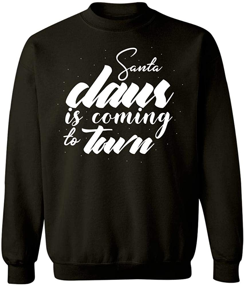 Santa Claus is Coming to Town Cool Christmas Design Sweatshirt