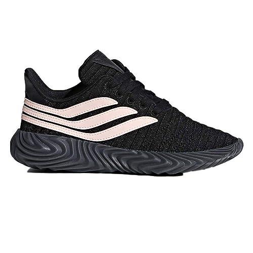 scarpe bambina adidas nere e fucsia