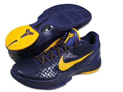 Nike Zoom Kobe VI 6 Imperial Purple Del Sol Yellow Basketball Shoes  429659-501 [