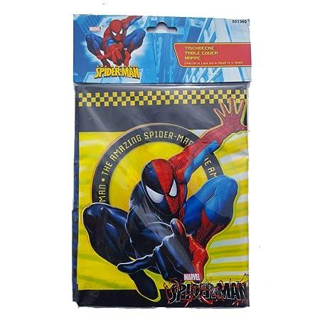 Spiderman Mantel 180 x 120 cm | para Spiderman Set de mesa ...