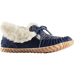 Sorel Out N About Moc Shoe - Women's Dark Mountain 8