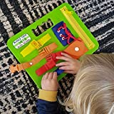 Buckle Toys Busy Board - Learning Activity Toy