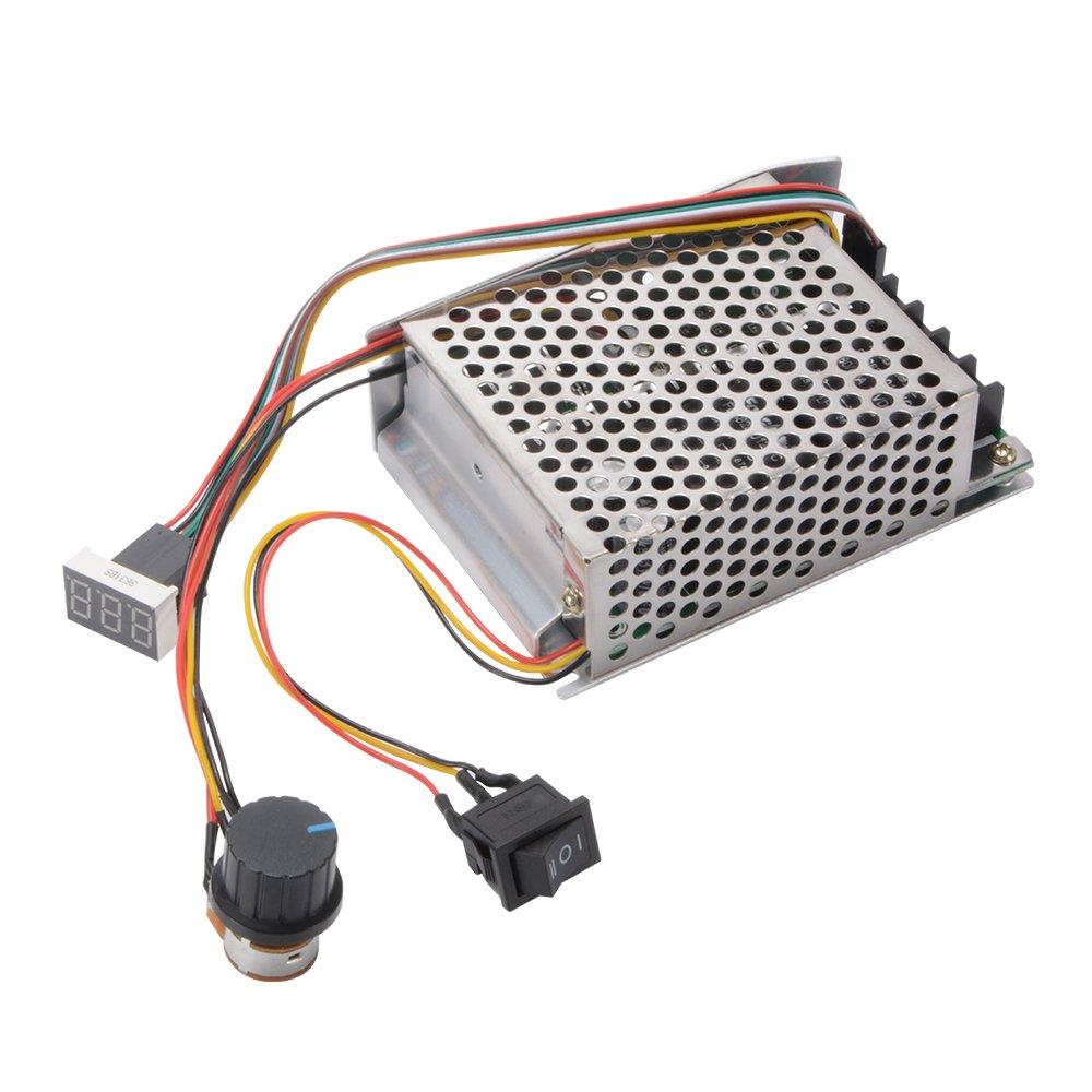 12 V//24 V//36 V//48 V Nimoa PWM-Gleichstrommotorregler Einstellbarer drehbarer 20-A-Hochleistungsschalter
