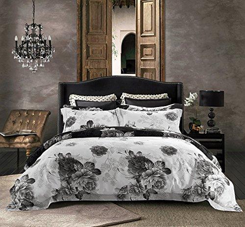 Cheap  Jieshiling 3PC 600 Thread Count Egyptian Cotton High Quality Duvet Cover Queen..