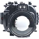 CameraPlus - High Performance Underwater Case Camera Housing Diving For Fujifilm X-T1 Can Be used with 18-55mm Lens Up To 40 Meters(130ft.)