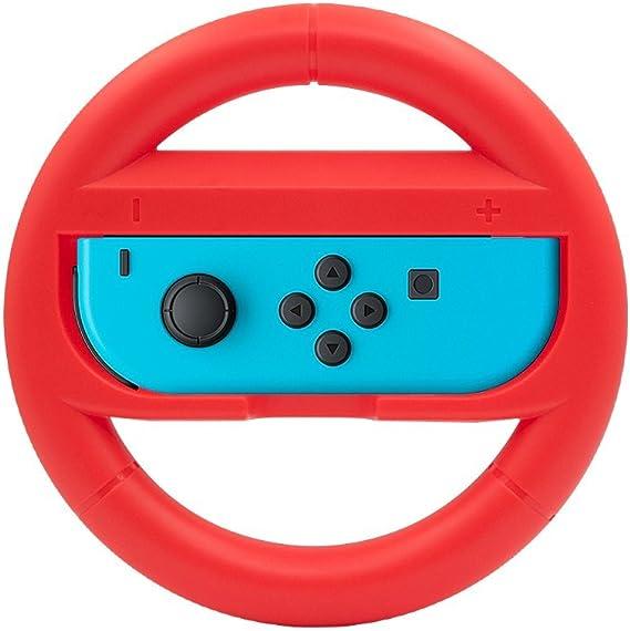 AVIDET 2 Pizas Volantes Racing Wheel para la Nintendo Switch Joy ...