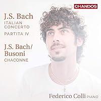 Federico Colli - Bach Italian Concerto/Partita Iv; B