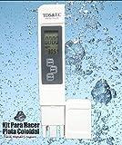 Medidor De Particulas TDS (Total de Solidos Disueltos) y EC (Corriente Electrica) Excelente Para Hacer Plata Coloidal Ap1 TDS