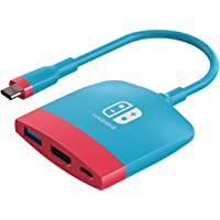 Hagibis Switch Docking Station Portable TV Dock Charging Dock for Nintendo Switch with HDMI and USB 3.0 Port Replacement…
