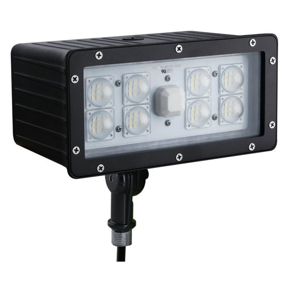 1000LED 45W LED Outdoor Flood Light Super Bright 4580lm Waterproof IP65 5000K AC100-277V UL DLC List For Wall,Garden,Backyard