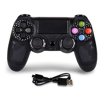 Amazon.com: Controlador PS4 Dual Shock 4 inalámbrico para ...