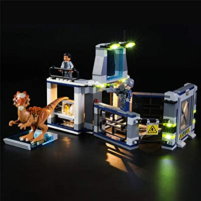 PeleusTech USB Operated LED Light Kit for Lego Jurassic World Stygimoloch Breakout 75927 - LED Included Only,No Lego Kit: Toys & Games