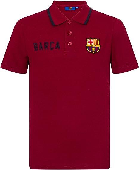 FC Barcelona - Polo oficial para niño - Con el escudo del club ...