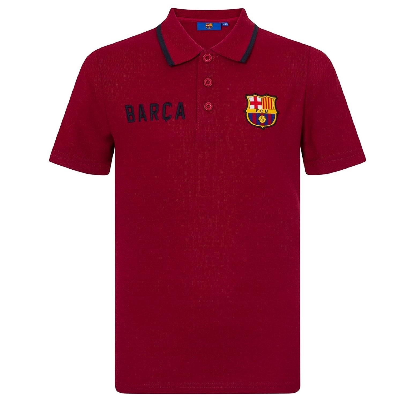 FC Barcelona - Polo oficial para niño - Con el escudo del club - Azul: Amazon.es: Ropa y accesorios