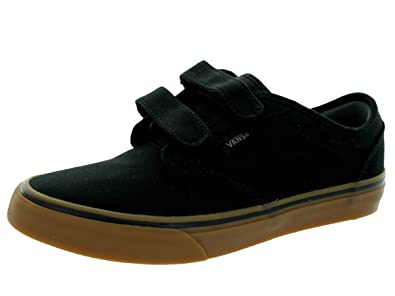 vans atwood black mens canvas skate shoes nz