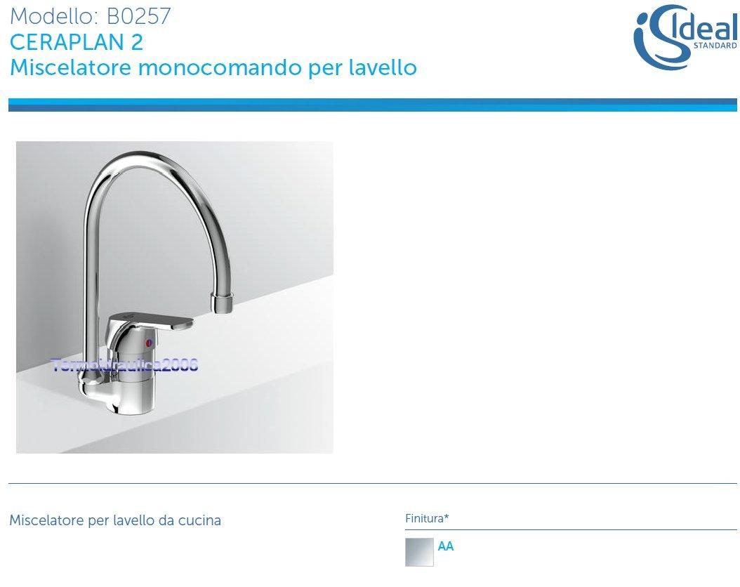 IDEAL STANDARD Ceraplan 2 B0257AA Miscelatore monocomando per ...
