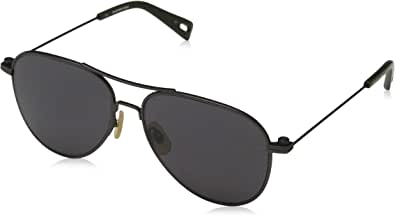 G-Star Aviator Raw Dark Gunmetal Semi Matte Sunglasses, Size 55