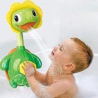 Turtle Baby Bath Toys Spray Fountain Toys for Kid - Hand Shower Floating Bathtub Shower Pool Toy… (Tortoise)