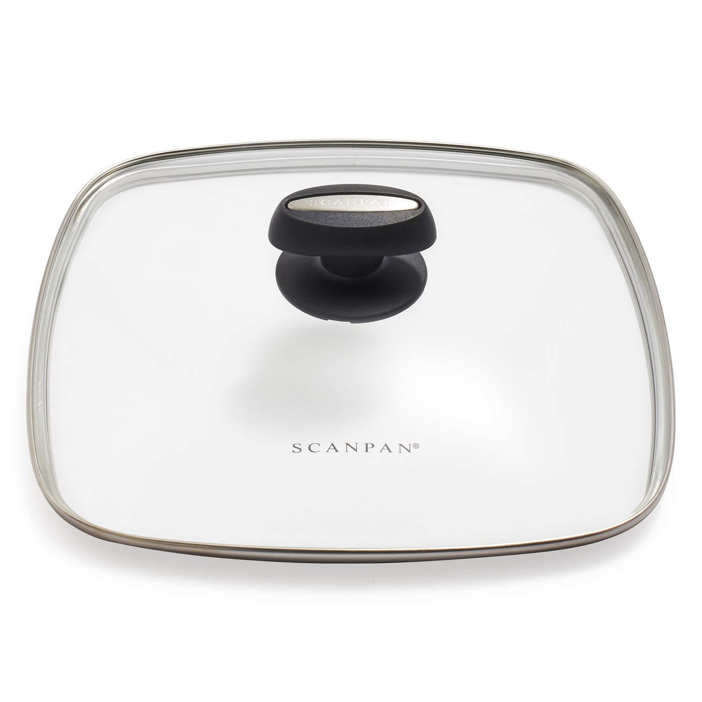 Scanpan Evolution Square Glass Lid, 11''