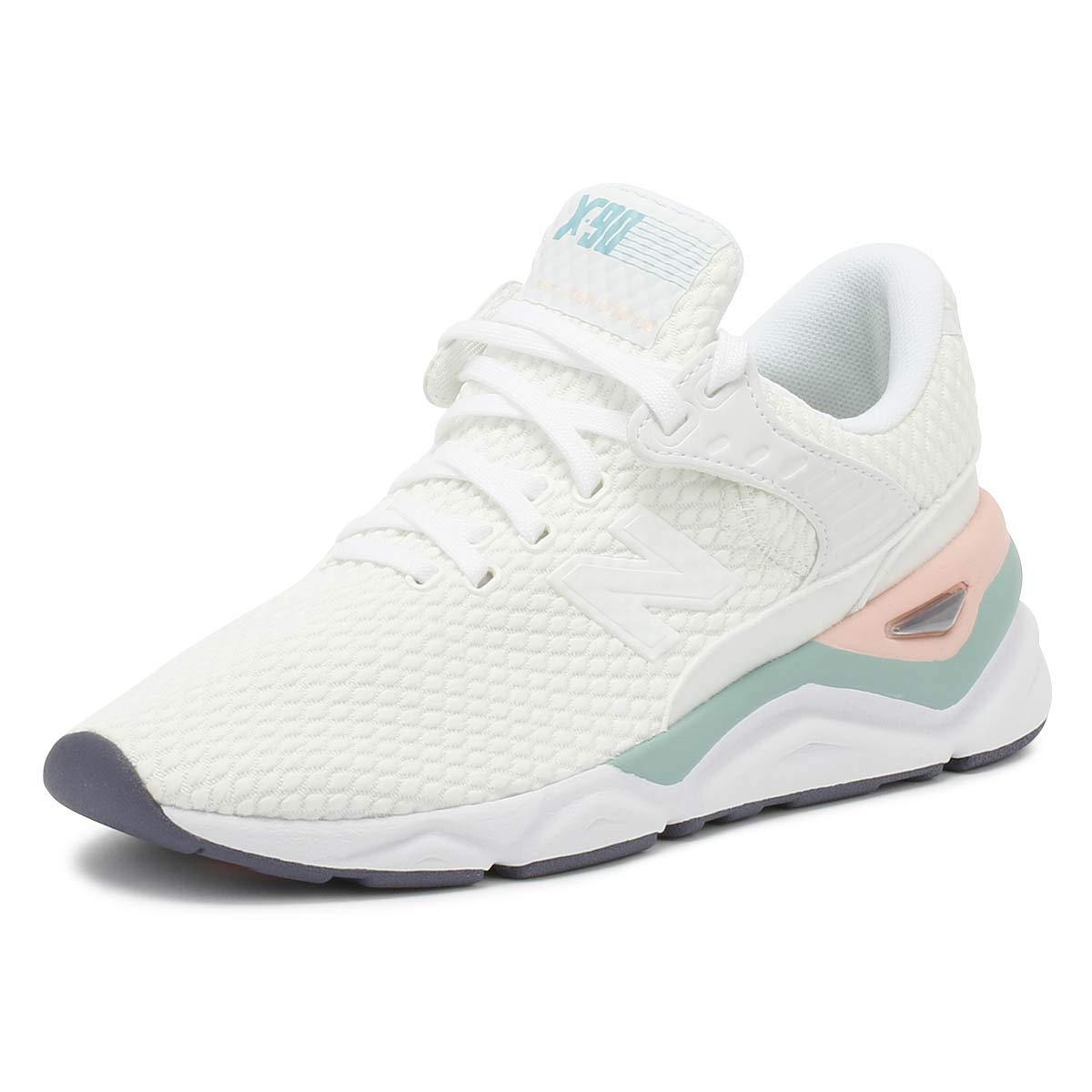 2b961111de640 Amazon.com   New Balance Womens X90 White Sport Sneakers-UK 3 ...