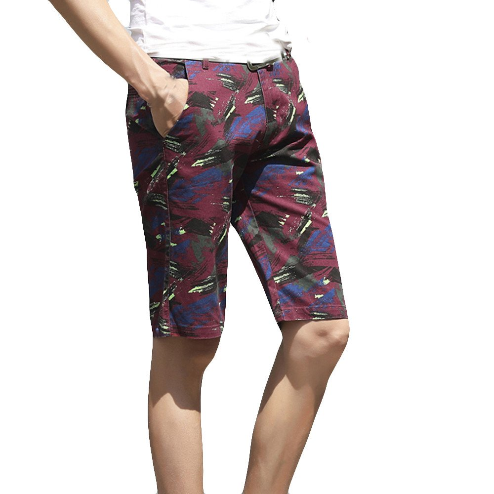 Chenchen Itd Fashion Explosion Men's Casual Loose Sports Five-Point Camouflage Pattern Beach Surf Pants by Chenchen Itd (Image #1)