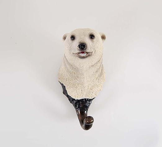 WINKBL® pared decoración Animal cabeza perchero de colgar en ...
