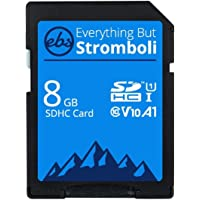 Everything But Stromboli 8GB SD Card Class 10 UHS-1 U1 V10 Video Speed C10 8G SDHC Memory Card for Compatible Digital…