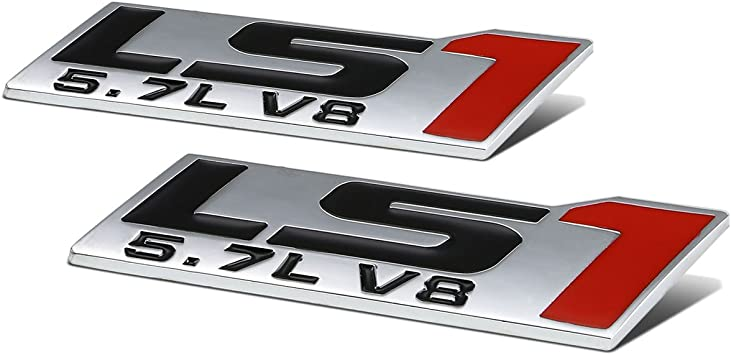 Black Red 2x 3D Metal 5.0 Emblem Allloy Badge Sticker Nameplate Replacement for 5.0