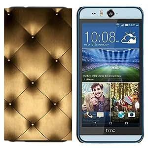YiPhone /// Prima de resorte delgada de la cubierta del caso de Shell Armor - Arte Couch Pared Interior Design Platinum Bling - HTC Desire Eye M910x