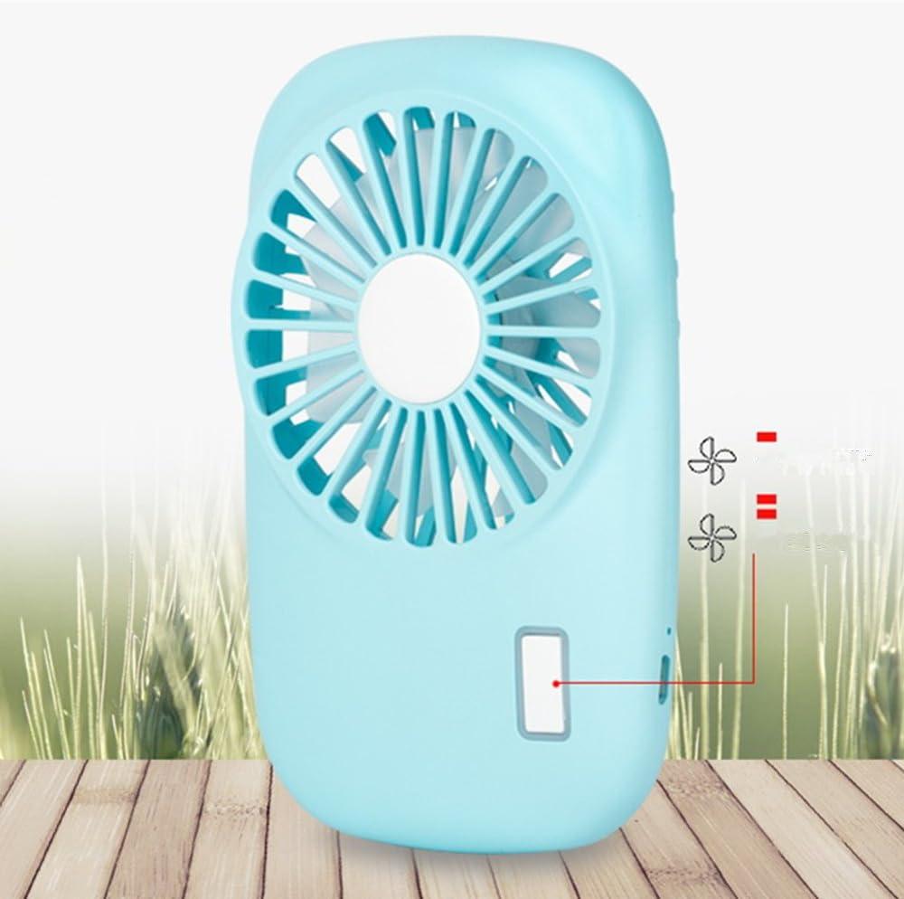 Pink Rishine Handheld Fan Mini Fan Powerful Small Personal Portable Fan Speed Adjustable USB Rechargeable Eyelash Fan for Kids Girls Woman Man Home Office Outdoor Travel