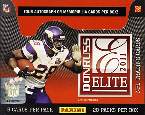 2011 Donruss (Panini) Elite Football box (20 pk HOBBY) (Football Card Box 2011 compare prices)