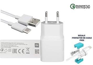 TPC - Cargador Original XlAOMl MDY-10-EF (18W) USB-C Carga ...