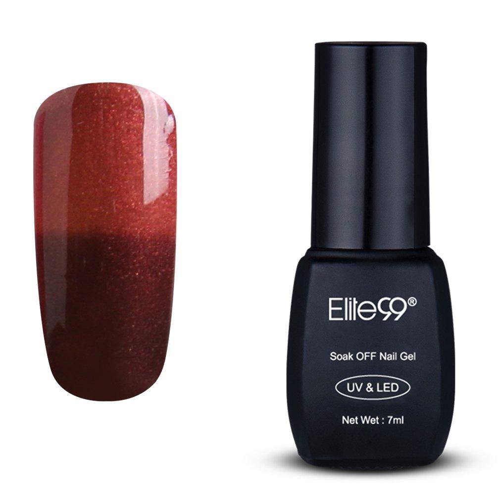 Amazon.com : Elite99 Gel Nail Polish Temperature Color Changing UV ...