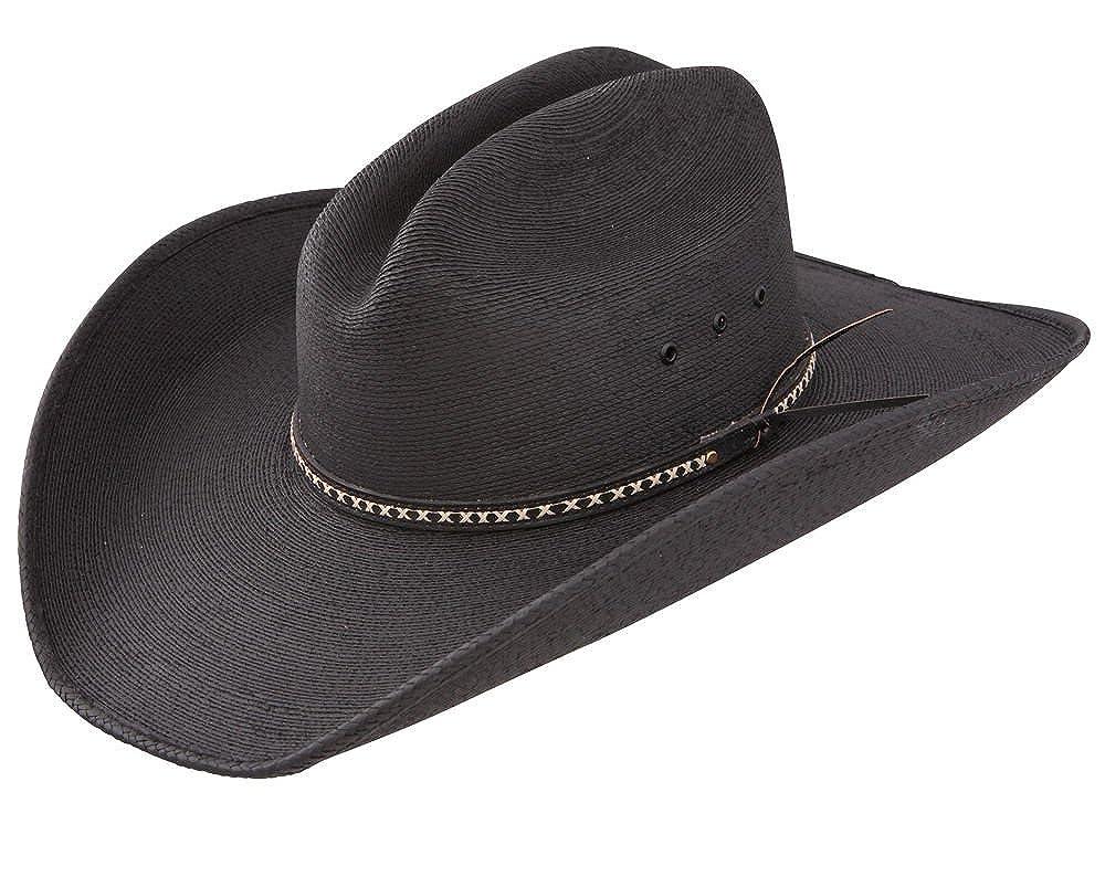 62bdf79ca78 Amazon.com  Jason Aldean Men s Asphalt Straw Cowboy Hat  Clothing