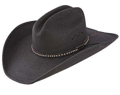 9c524fc5fc5 Amazon.com  Jason Aldean Men s Asphalt Straw Cowboy Hat  Clothing